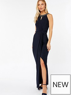 monsoon-monica-maxi-dress-shorter-length-navy