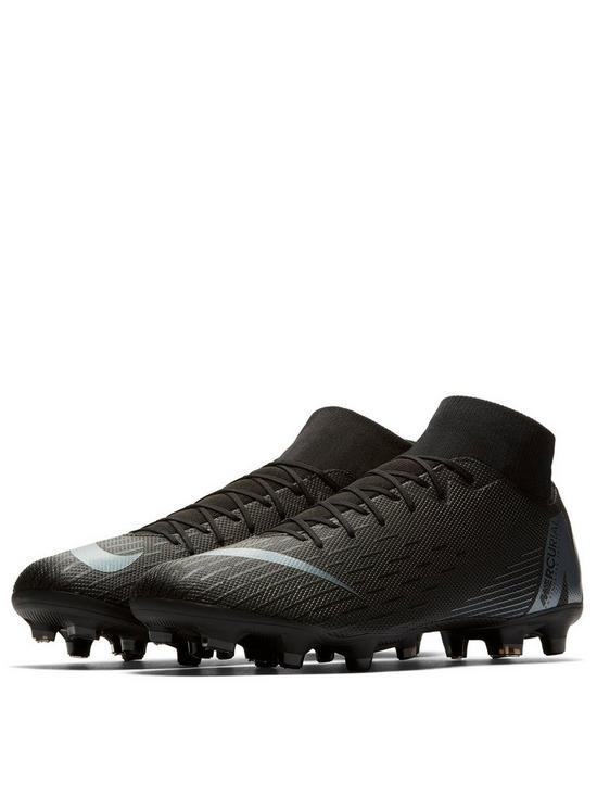 half off 55109 ffa0a Mercurial Superfly VI Academy MG Football Boots - Black