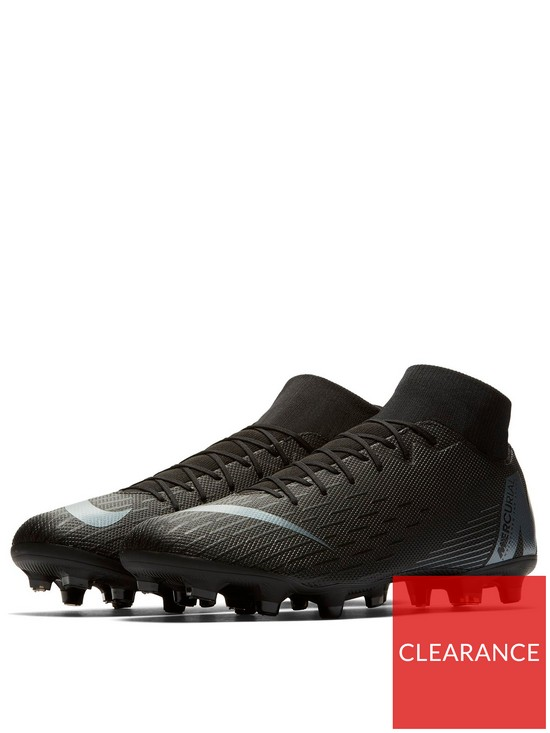 7e81a3bc93971a Nike Mercurial Superfly VI Academy MG Football Boots - Black | very ...