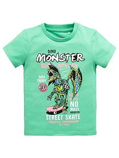 mini-v-by-very-boys-monster-skate-attack-dino-tee-greennbsp