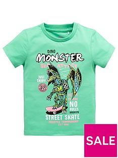 mini-v-by-very-boys-monster-skate-attack-dino-tee-greennbsp