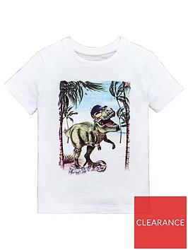 mini-v-by-very-textured-print-la-dino-t-rex-tee-white
