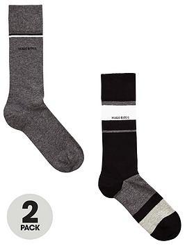 boss-2pk-colour-block-sock