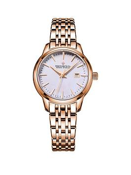 dreyfuss-co-dreyfuss-amp-co-1890-mother-of-pearl-date-dial-rose-gold-stainless-steel-ladies-watch