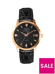 rotary-swiss-made-les-originales-rose-gold-and-black-art-deco-dial-with-black-leather-strap-mens-watch