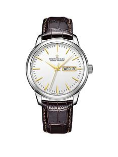 dreyfuss-co-dreyfuss-white-index-day-date-dial-leather-strap-mens-watch