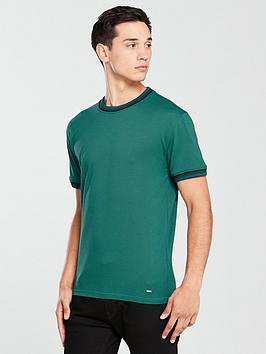 boss-casual-ringer-t-shirt-green