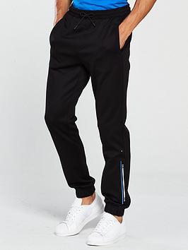 boss-athleisure-logo-cuffed-sweat-pants