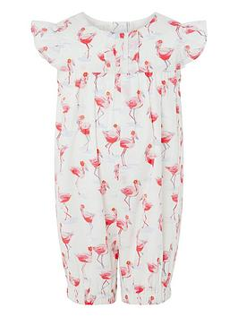 monsoon-newborn-baby-freya-flamingo-romper