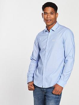 boss-pindotnbsplong-sleeve-shirt-sky-blue