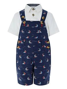 monsoon-simon-sail-boat-dungaree-set