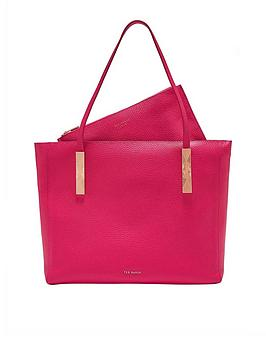 ted-baker-paigie-large-zip-tote-bag-fuchsia