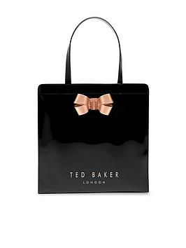 ted-baker-bow-detail-large-icon-bag-black