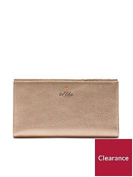 ted-baker-kayynbspbow-detail-travel-wallet-purse-rose-gold