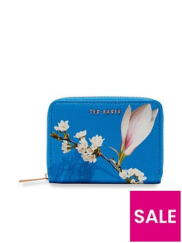 ted-baker-corri-harmony-small-zip-purse-bright-blue