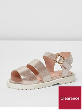 river-island-mini-girls-pink-metallic-strappy-sandals