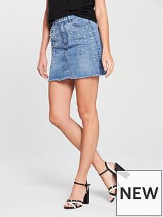 v-by-very-pearl-amp-stud-denim-skirt-mid-wash