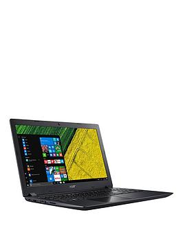 Acer Aspire 3, Intel&Reg; Pentium&Trade;, 4Gb Ram, 1Tb Hdd, 15.6 Inch Full Hd Laptop - Black - Laptop Only