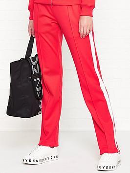 calvin-klein-side-stripe-straight-fit-sweatpantsnbsp--red