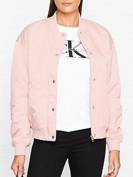 calvin-klein-snap-button-nylon-bomber-jacket-pink