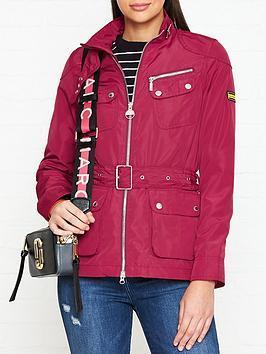 barbour-international-international-barthurst-four-pocket-belted-jacket-pink