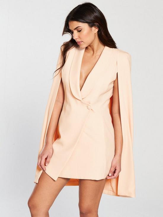 Co. Cape Mini Dress