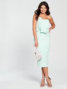 lavish-alice-bow-front-bandeau-midi-dress-mint