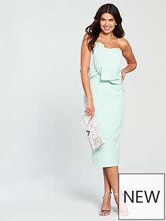 lavish-alice-bow-front-bandeau-midi-dress-mint
