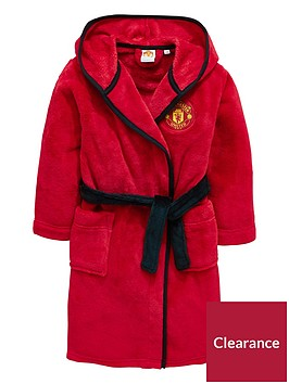 character-manchester-united-fc-boys-hooded-dressing-gown
