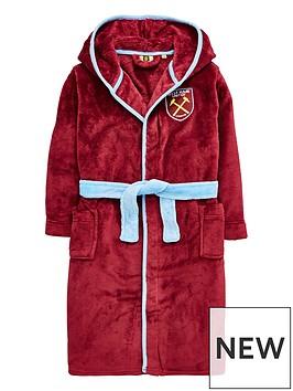 character-west-ham-united-football-fleece-robe