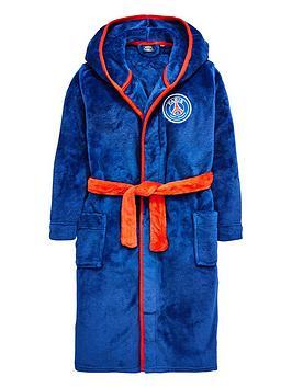 character-paris-saint-germain-football-fleece-robe-multi-coloured