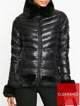 barbour-international-premium-catalunya-quilted-faux-fur-trim-jacket-black