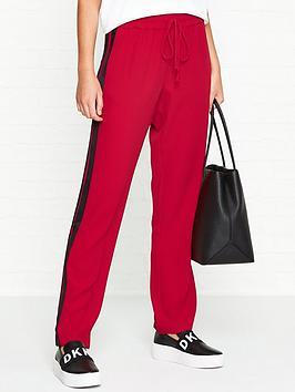 bec-bridge-hear-me-roar-side-stripe-trousers-red
