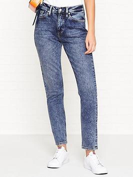 calvin-klein-ckj-020-high-rise-slim-leg-jeans-aptos-blue