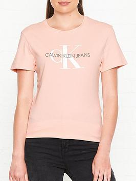 calvin-klein-monogram-logo-regular-fit-t-shirt-pink