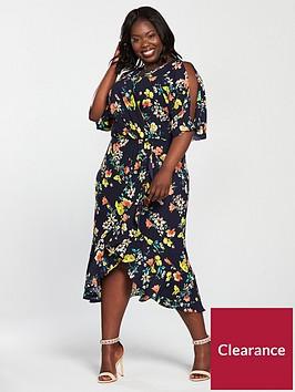 v-by-very-curve-wrap-split-sleeve-kimono-dress-navy-floral