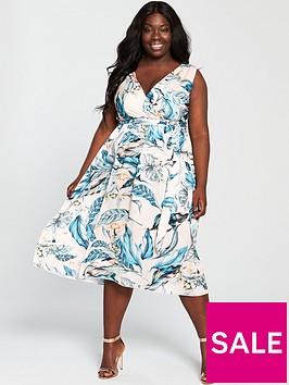 little-mistress-curve-printed-wrap-dress