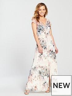 little-mistress-petite-floral-printnbspdress