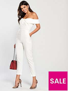 lavish-alice-woven-twist-bardot-tapered-jumpsuit-white