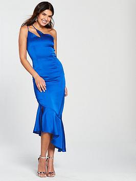 lavish-alice-satin-one-shoulder-frill-hem-dress-bluenbsp