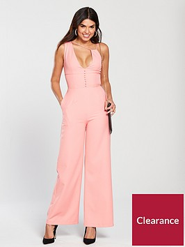 lavish-alice-multi-strap-button-detail-wide-leg-jumpsuit-pink