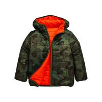 5cc518967101 Mini V by Very Slim Fit Reversible Camo Padded Jacket
