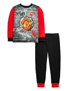 character-boys-manchester-united-football-pyjamas-multi
