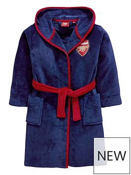 character-arsenal-fc-boys-hooded-dressing-gown