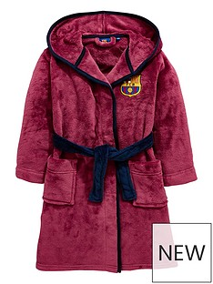 character-barcelona-fc-boys-hooded-dressing-gown