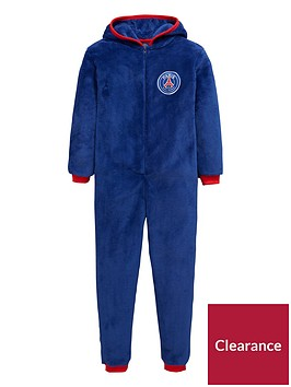 character-paris-saint-germain-football-fleece-sleepsuit