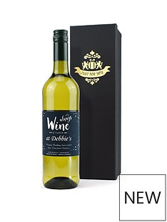 personalised-wine-o039clock-vdp-white-wine-in-a-silk-lined-gift-box