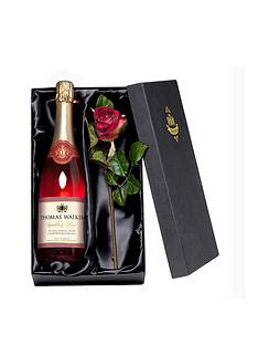 personalised-any-occasion-sparkling-roseacute-wine-with-a-rose-giftpack
