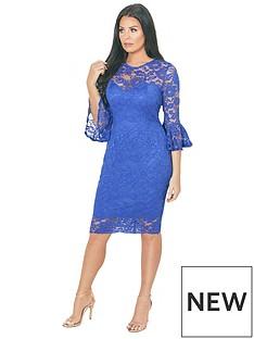 jessica-wright-jessica-wright-luisa-lace-flute-sleeve-midi-dress