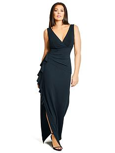 jessica-wright-amiya-ruffle-side-maxi-dress